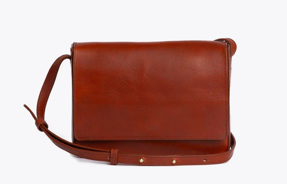 The crossbody bag in Rosewood