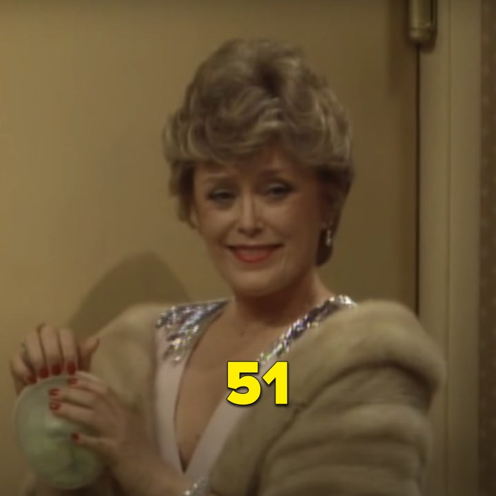 "Rue as Blanche in the pilot episode of ""The Golden Girls"""