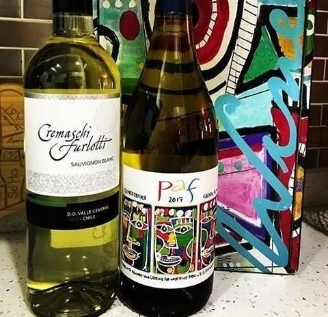 Two bottles of wine