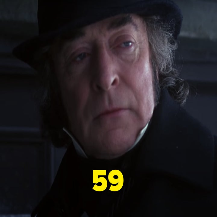 "Michael Caine as Scrooge in ""The Muppet Christmas Carol"""