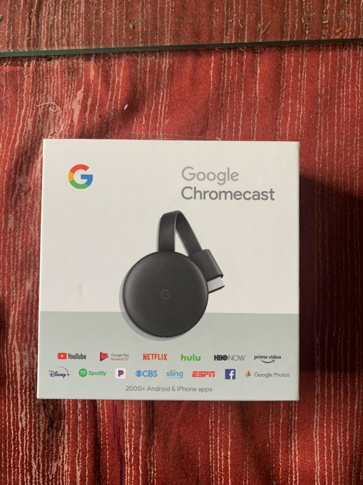 reviewer image of the google chromecast