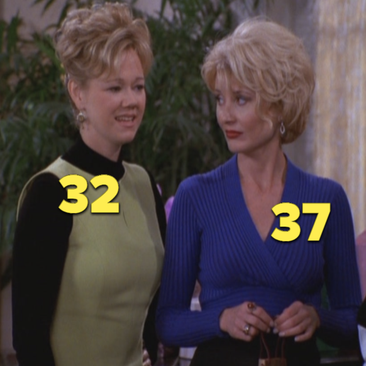 "Aunt Hilda and Aunt Zelda from ""Sabrina, the Teenage Witch"""