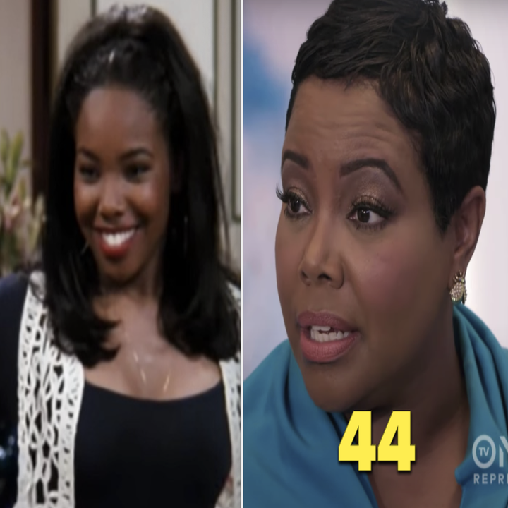 Kellie Shanygne Williams as Laura Winslow in the '90s vs. her in 2020