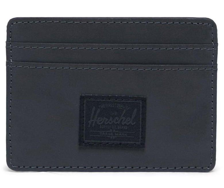 the wallet in black
