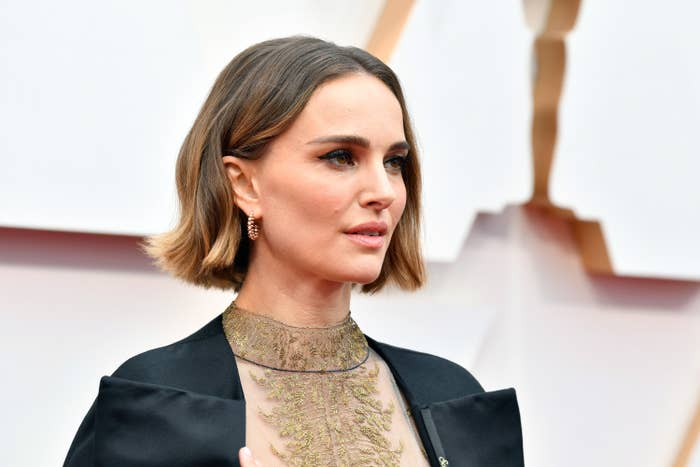 Natalie Portman attends the 92nd Annual Academy Awards at Hollywood and Highland on February 09, 2020 in Hollywood, California