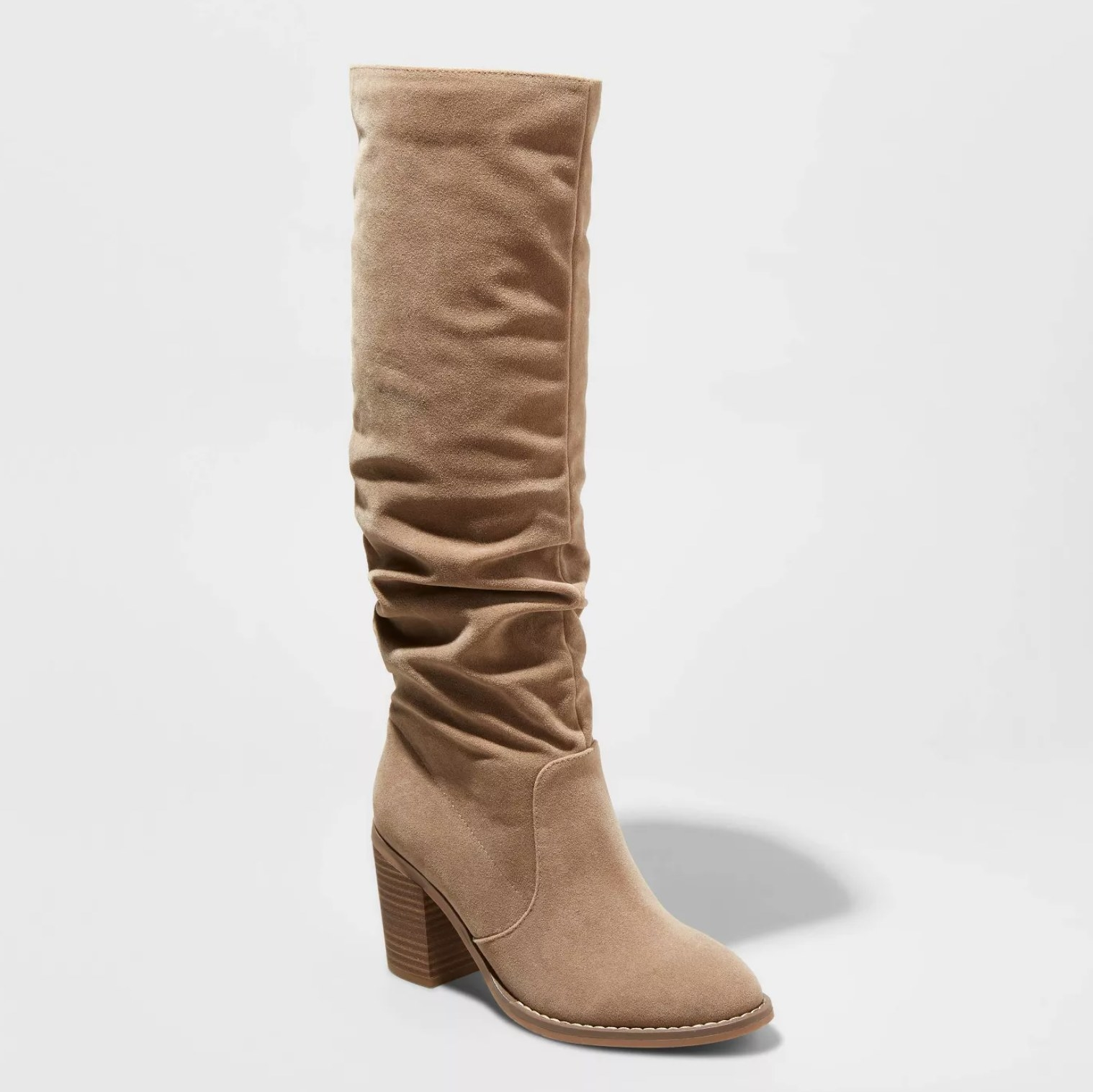 The boots in taupe