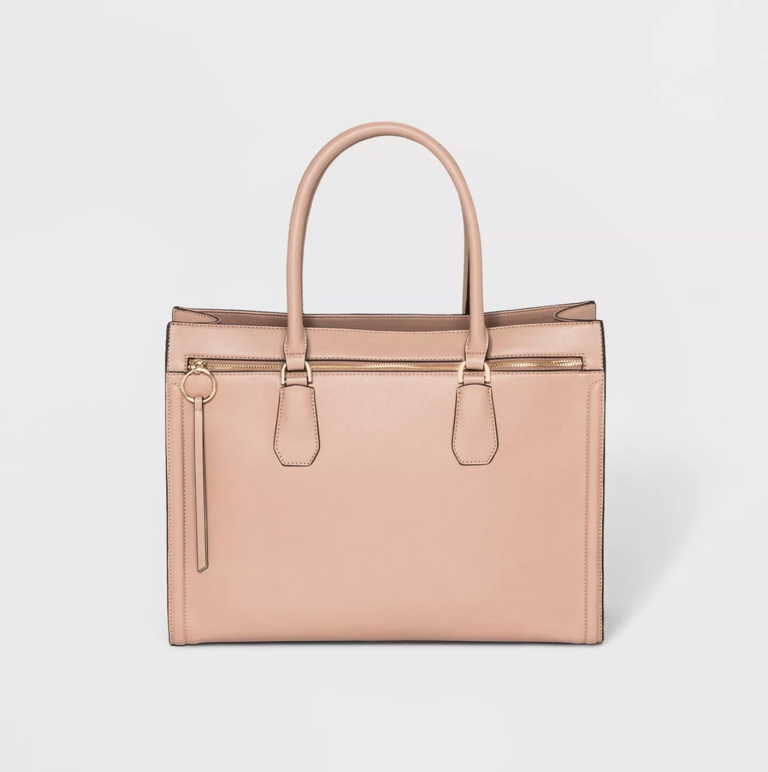 The bag in brown