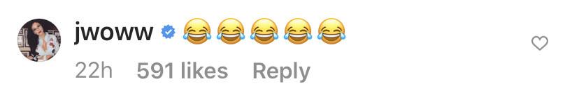Screenshot of a bunch of laughing emojis