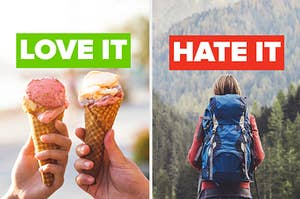 Do you LOVE ice cream and HATE hiking?