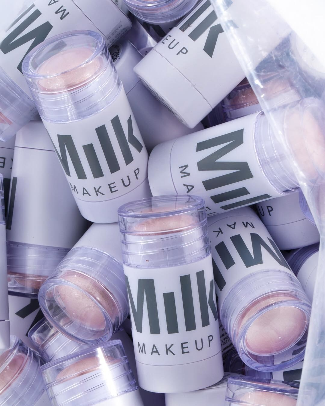 a bunch of the mini milk highlighters