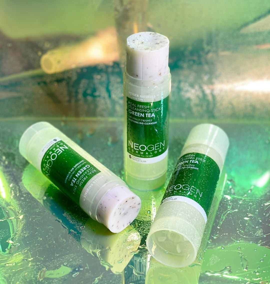 the green tea cleansing sticks