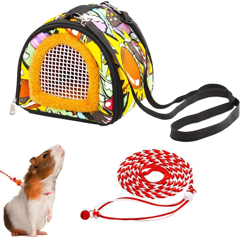 The hamster carrier bag