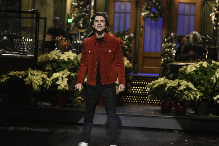 Timothee Chalamet And Pete Davidson Best Moments On Snl The official instagram of saturday night live. timothee chalamet and pete davidson