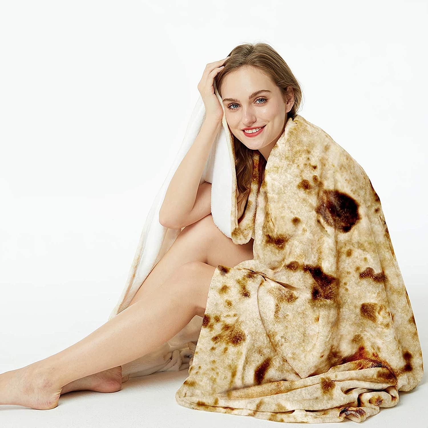 A model in the blanket