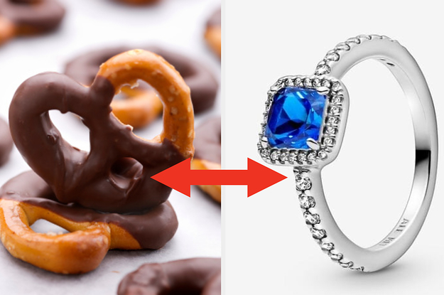 Choose Some Food And We'll Tell You Which Pandora Ring You Deserve