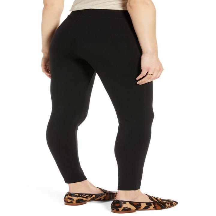 model wearing the leggings