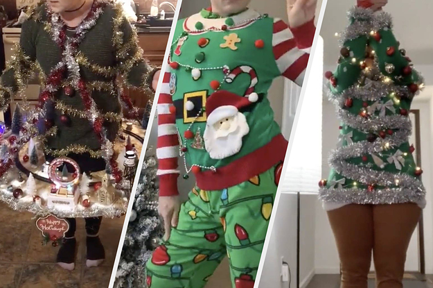 I'm Obsessed With How Extra These Ugly Christmas Sweaters Are
