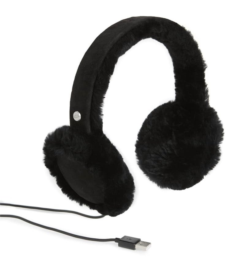 The black ear muffs