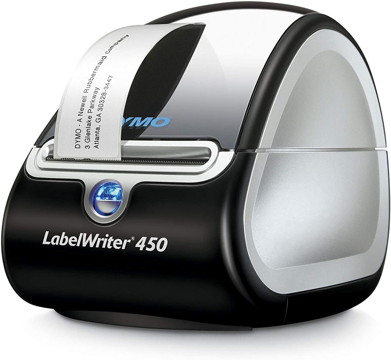 the dymo label printer