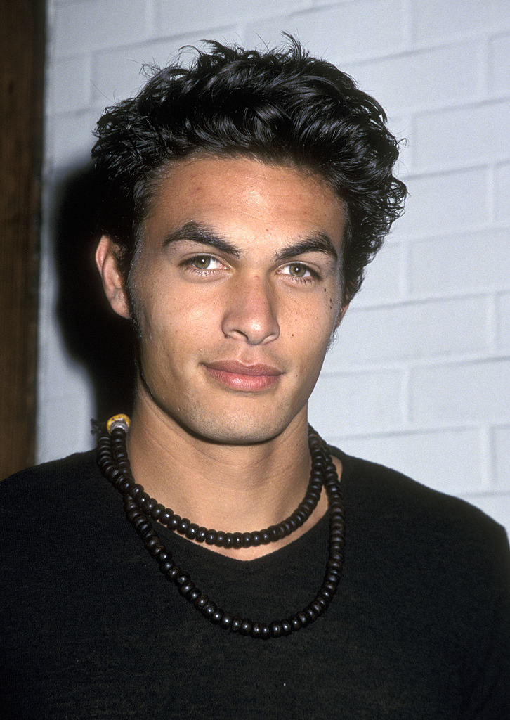 Jason Momoa attends Miramax Hosts Party in Honor of Henry Diltz on November 30, 2000
