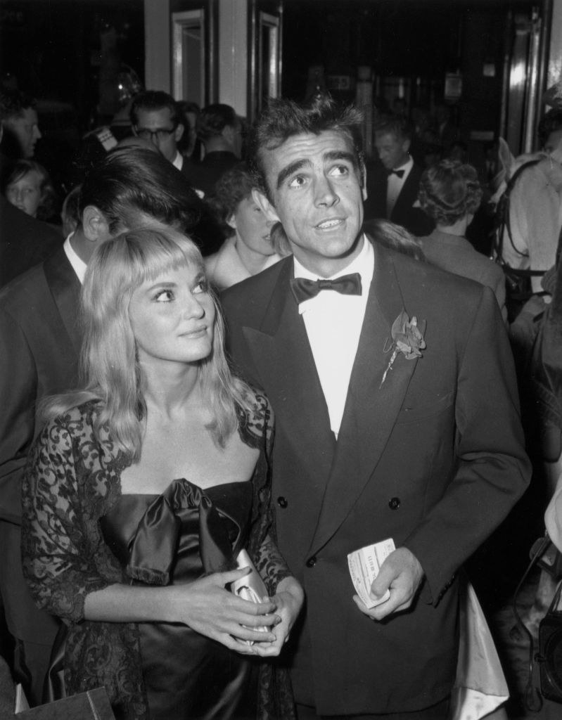 Sean Connery and Diane Cilento in 1959