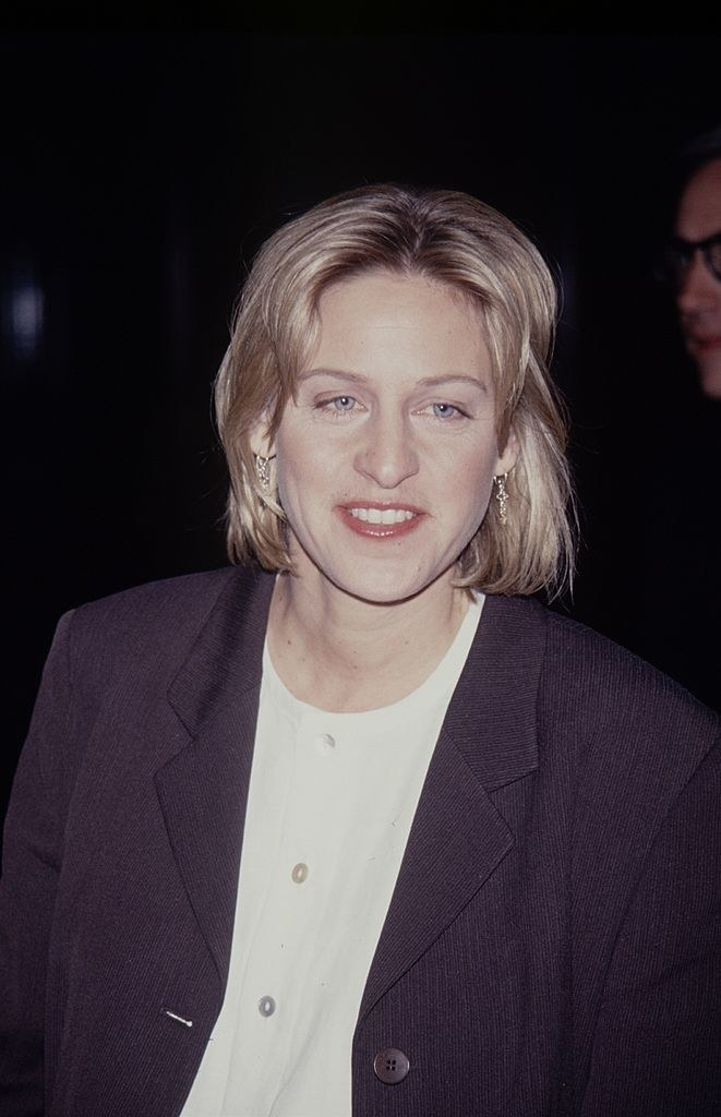 Ellen with a mullet again