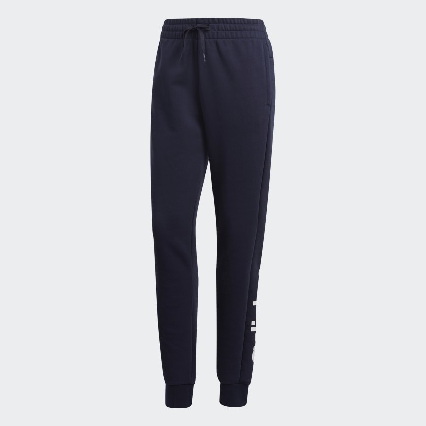The drawstring sweat pants
