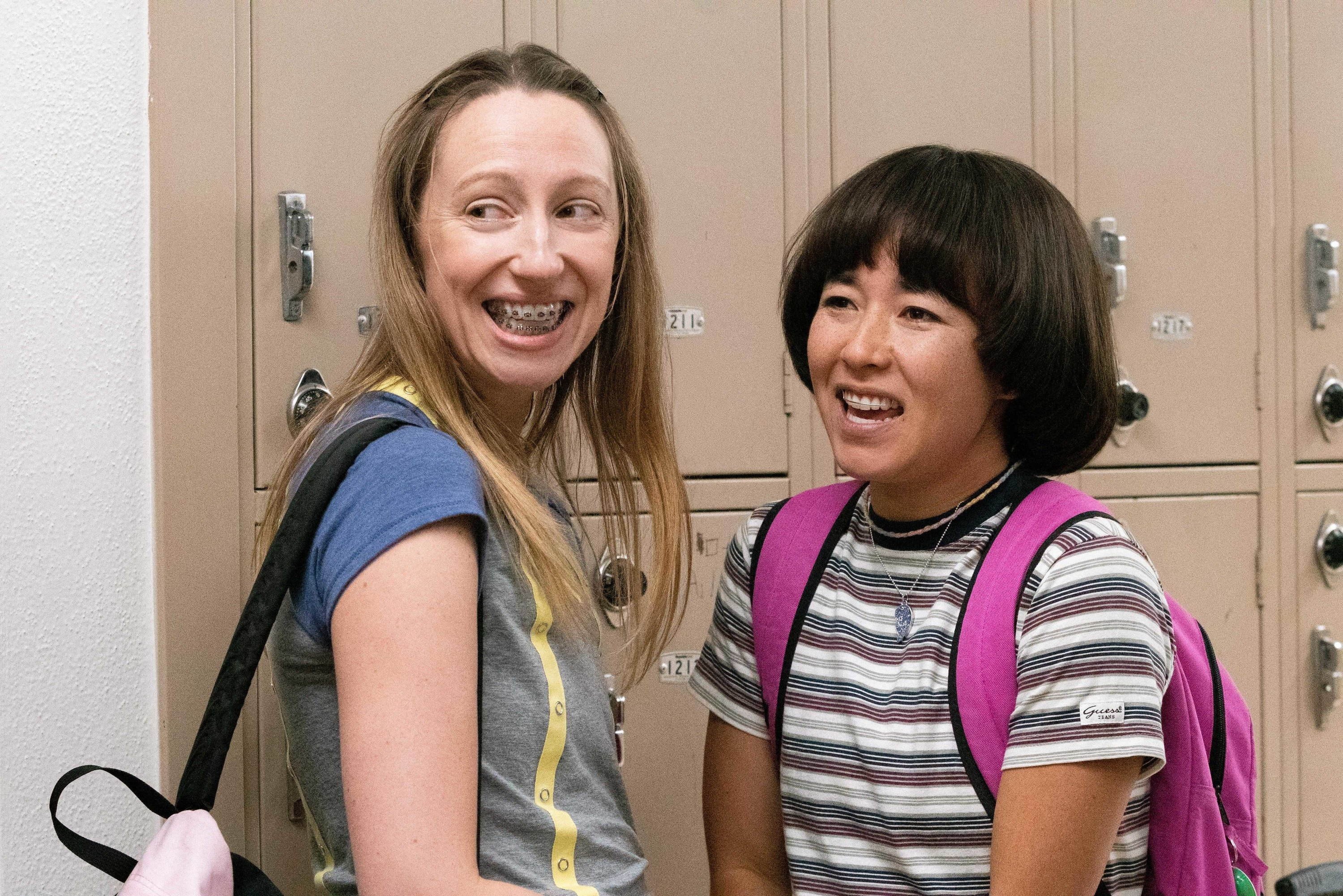 Anna Konkle and Maya Erskine in PEN15