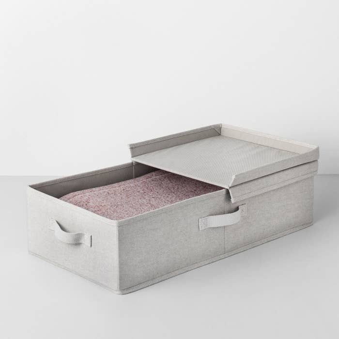 the made by design Underbed Fabric Bin