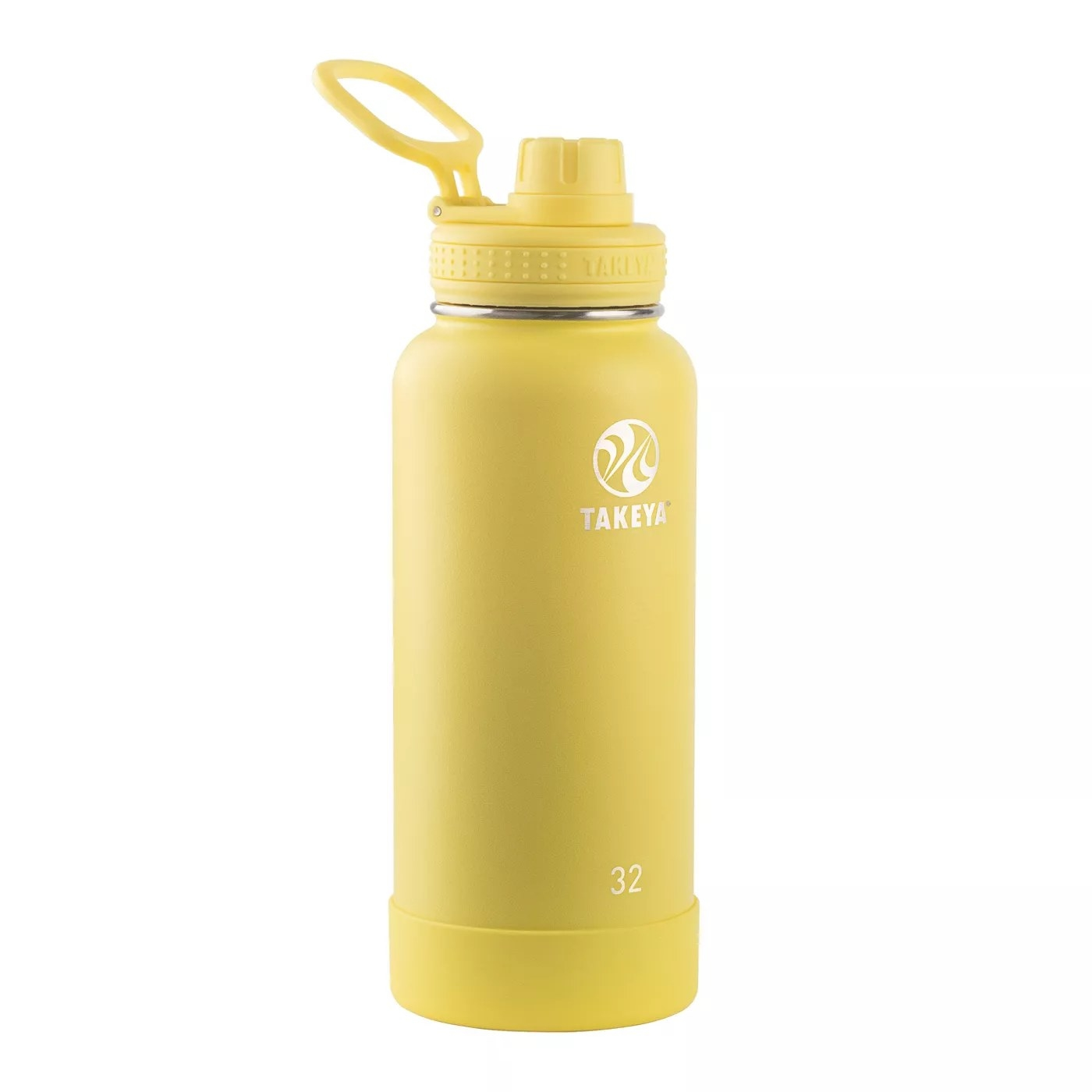 Yellow Takeya water bottle