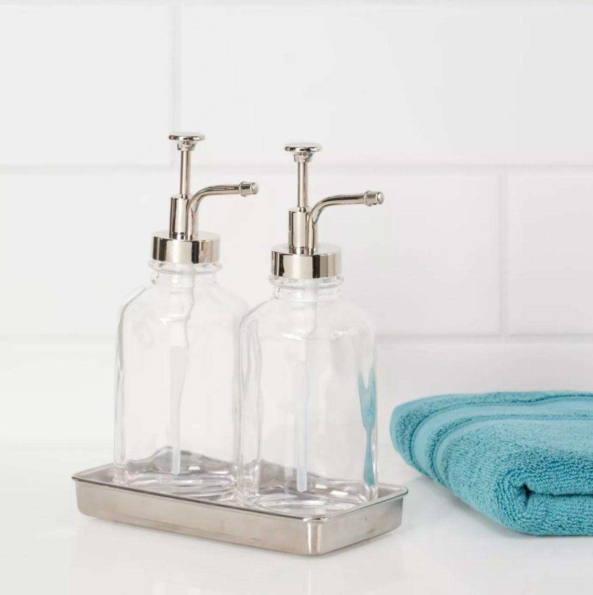 The double soap pump