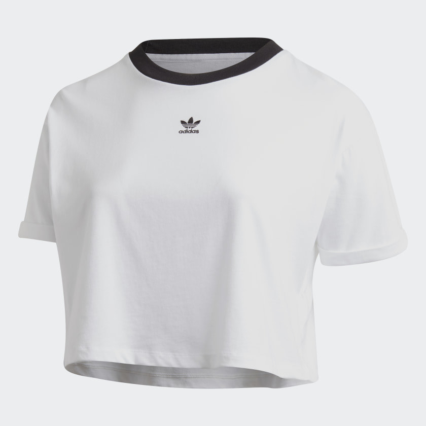 The white shirt with Black text
