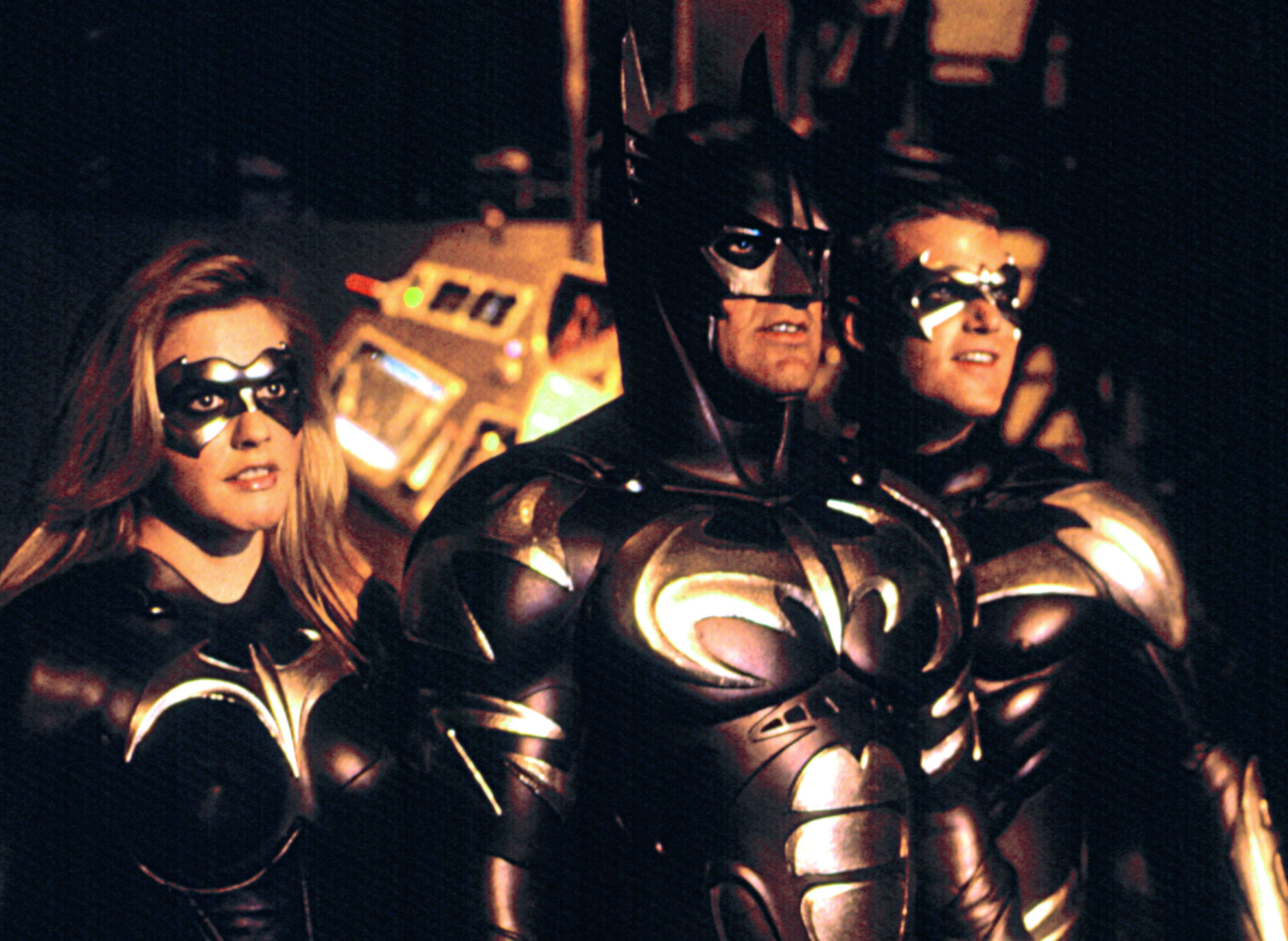 BATMAN AND ROBIN, Alicia Silverstone, George Clooney, Chris O'Donnell, 1997