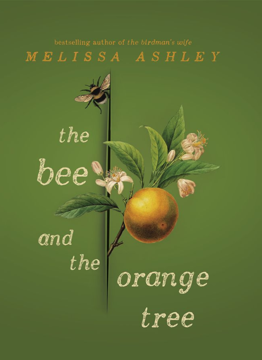 Cover shows an orange growing off a small branch with a bee at the top
