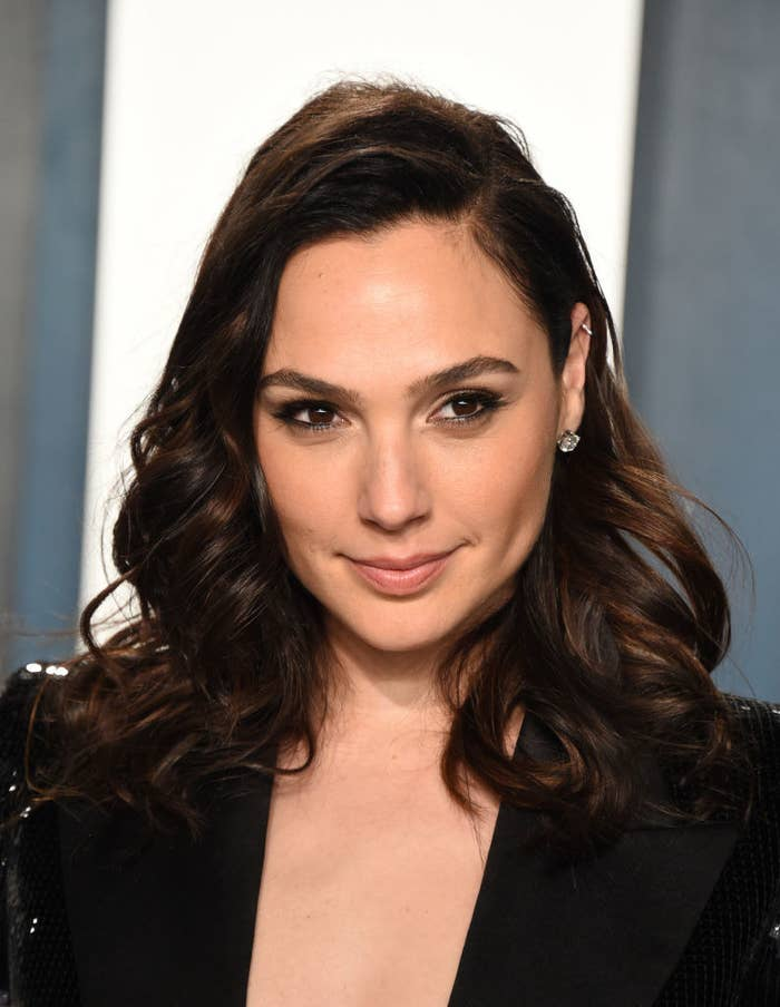 Gal Gadot attends the 2020 Vanity Fair Oscar Party