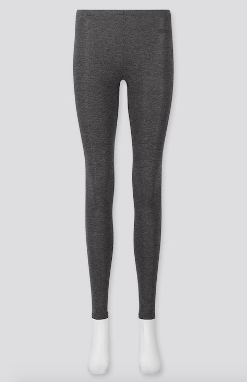 The grey leggings