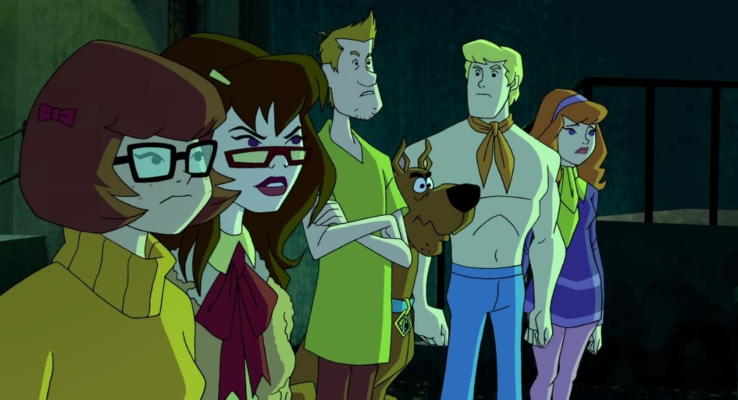 Members of Mystery Incorporated take part in a bizarre encounter.
