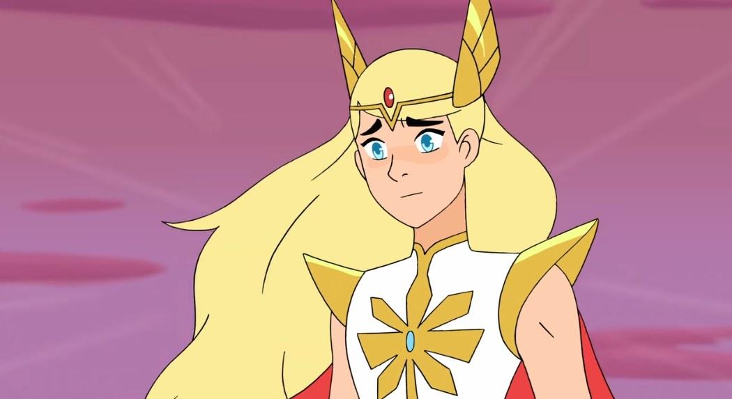 She-Ra looks on wistfully