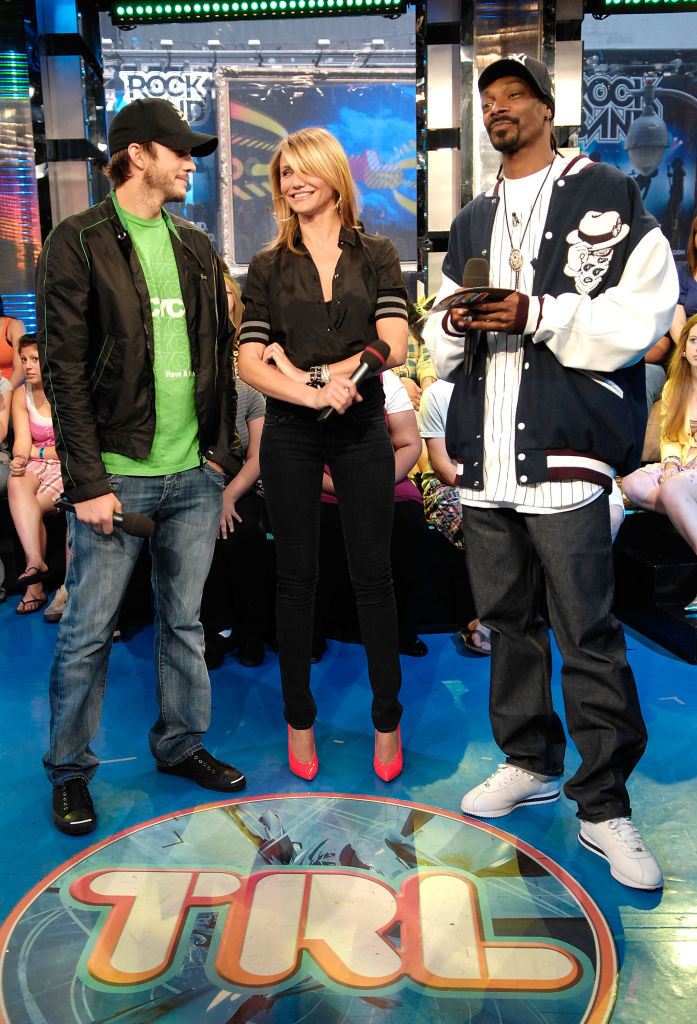 Cameron and Snoop on TRL