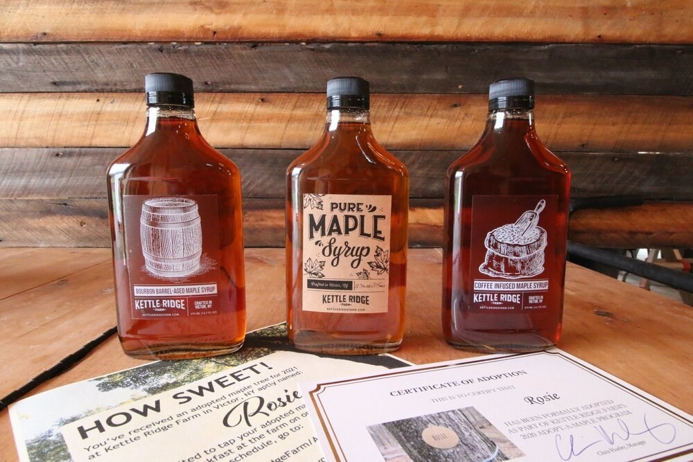 the maple syrups