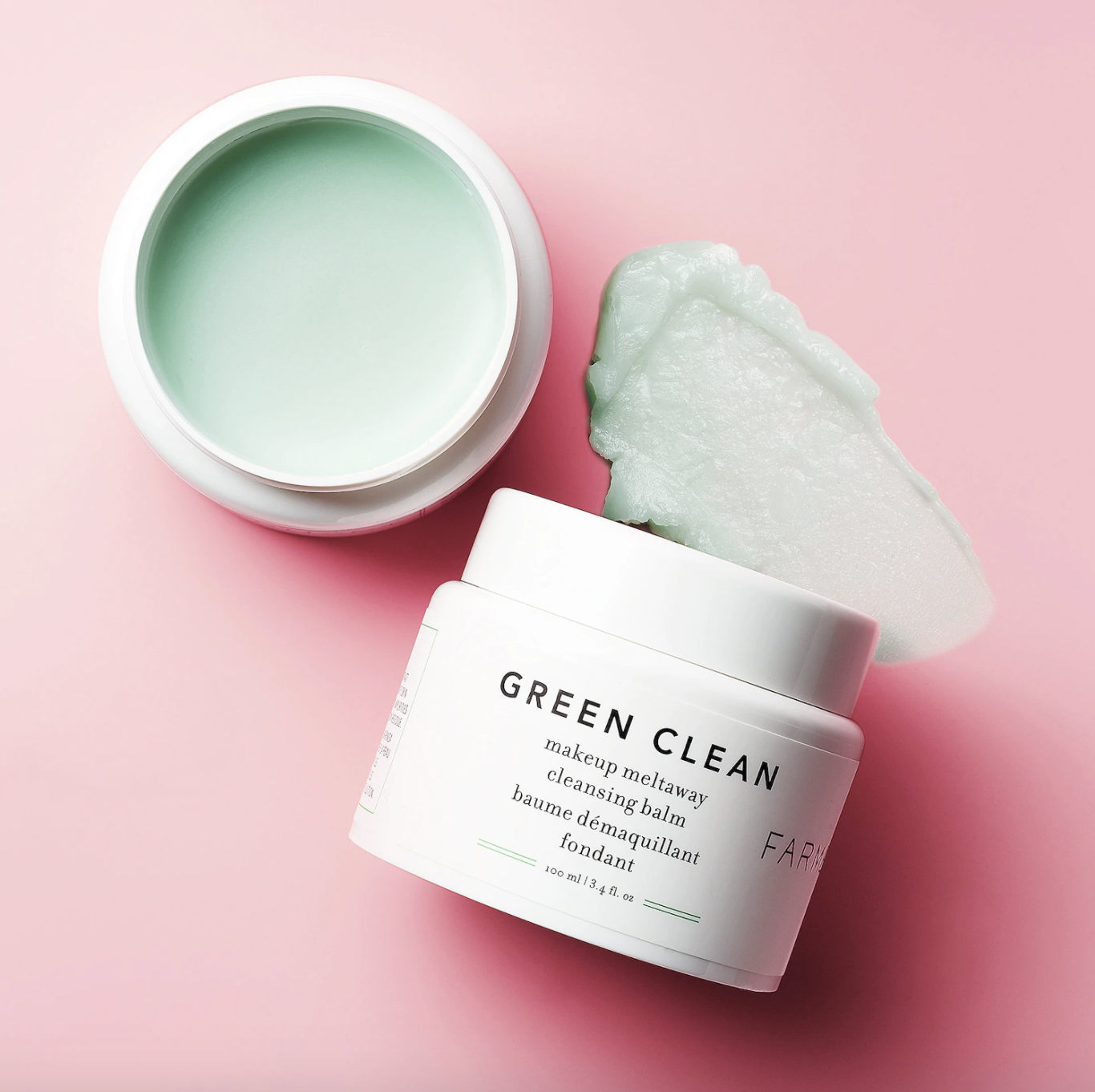 the Green Clean Makeup Removing Cleansing Balm