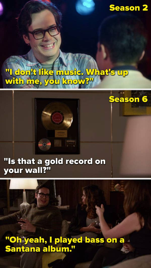 Robby is described as boring, but then in season 6, he becomes the most interesting person in the universe.