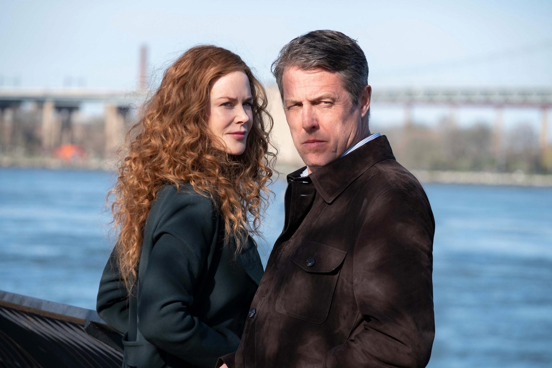 "Nicole Kidman and Hugh Grant in ""The Undoing"""