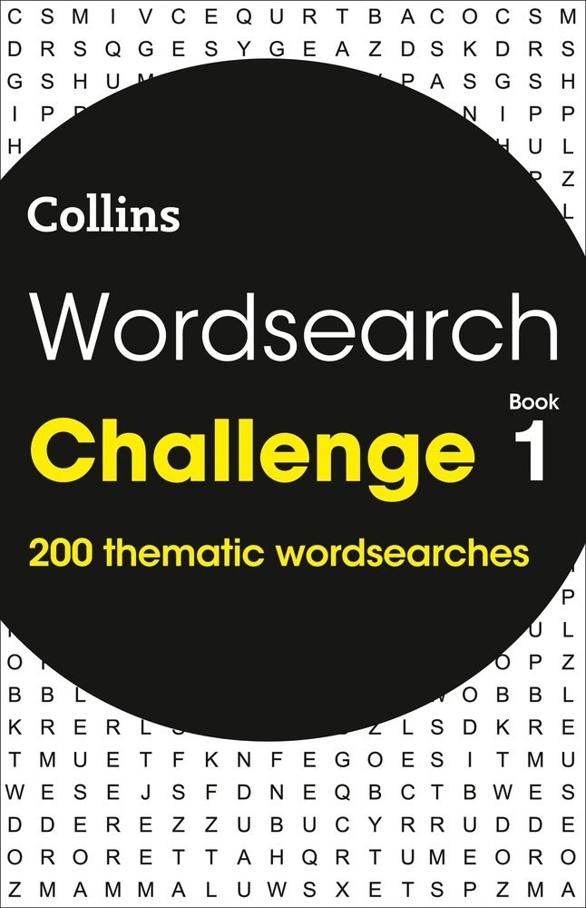 Cover of the word search mask