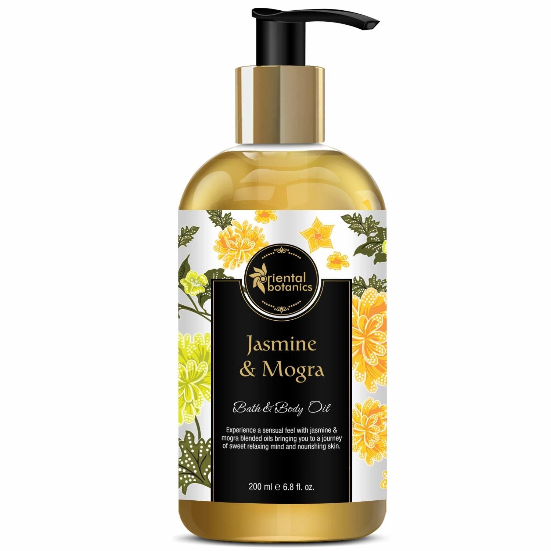 Jasmine and mogra bath and body oil