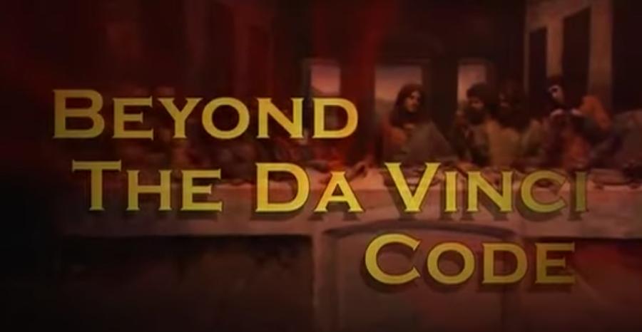 "A title card for ""Beyond the Da Vinci Code"""