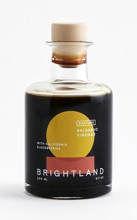 The bottle of balsamic vinegar