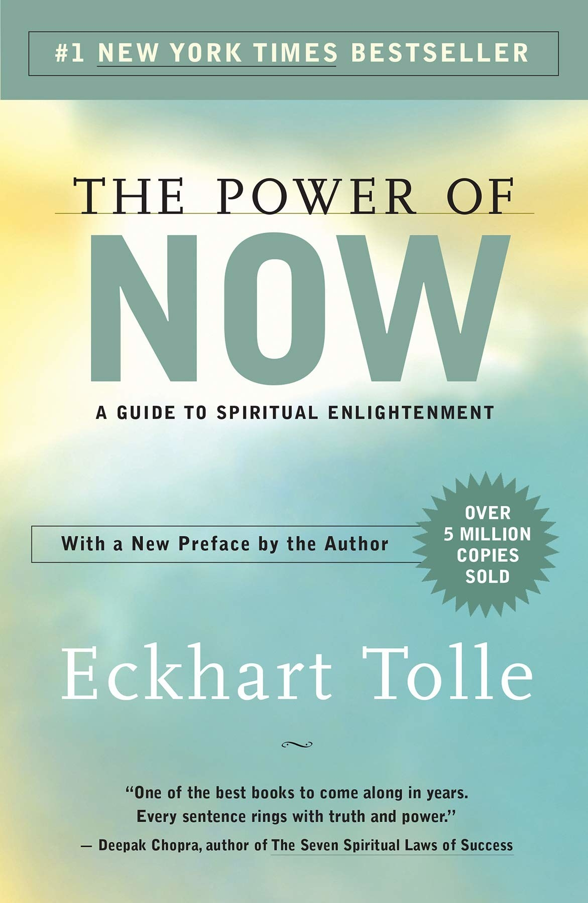 """the cover of """"the power of now"""""""