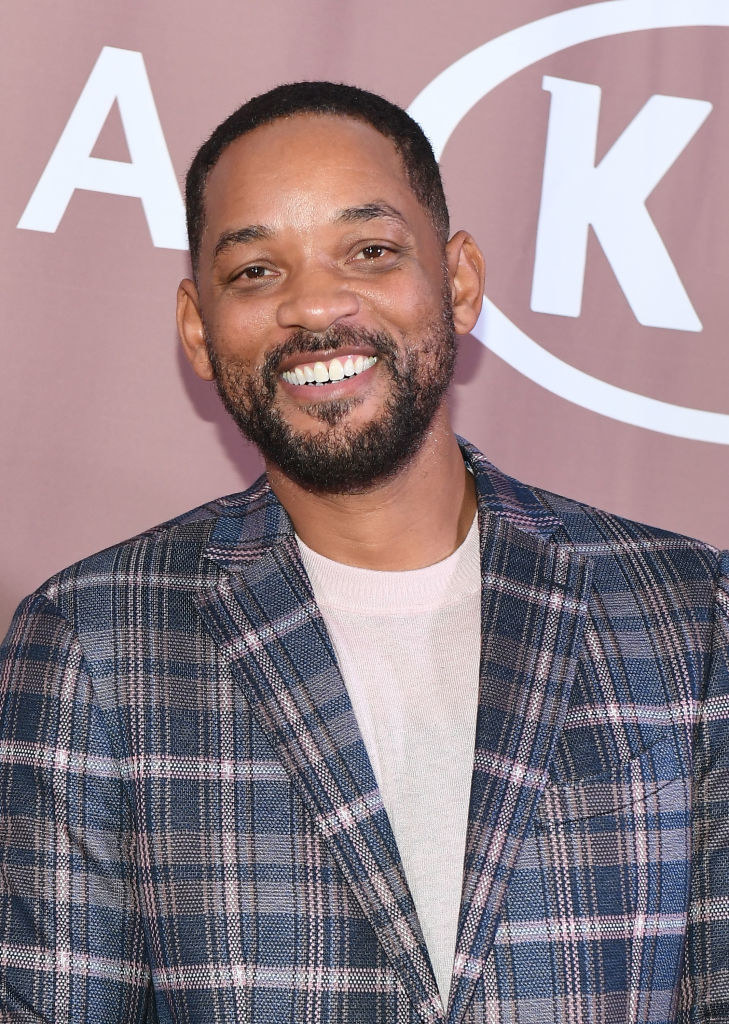 Will Smith at the Salute to Greatness Awards Gala in 2020