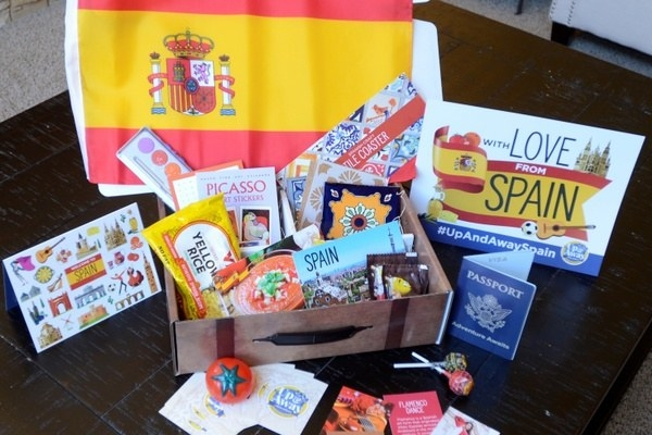a spain themed box